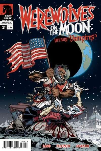 Werewolves on the Moon: Versus Vampires comic books