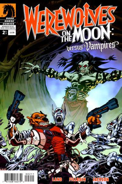 Werewolves on the Moon: Versus Vampires #2 comic books - cover scans photos Werewolves on the Moon: Versus Vampires #2 comic books - covers, picture gallery