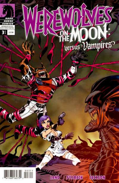 Werewolves on the Moon: Versus Vampires #3 comic books for sale