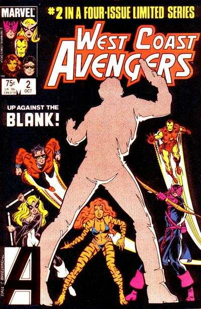 West Coast Avengers #2 comic books - cover scans photos West Coast Avengers #2 comic books - covers, picture gallery
