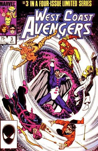 West Coast Avengers #3 comic books - cover scans photos West Coast Avengers #3 comic books - covers, picture gallery