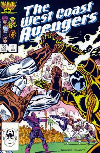 West Coast Avengers #11 comic books for sale