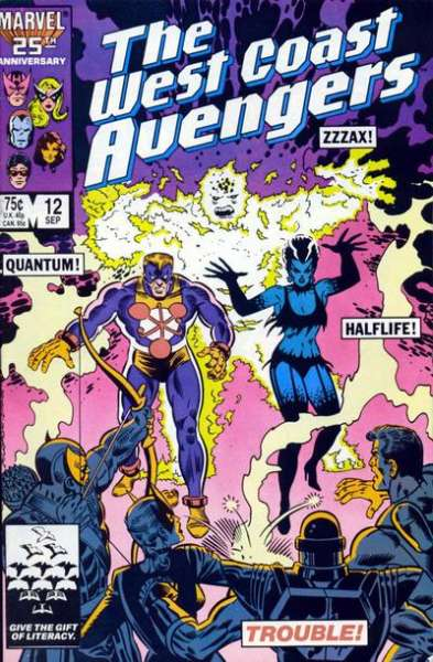 West Coast Avengers #12 comic books for sale