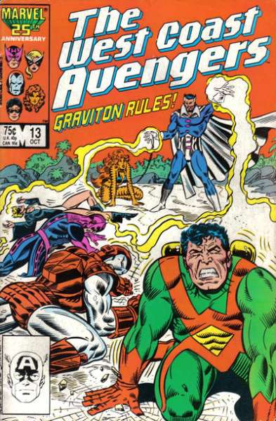 West Coast Avengers #13 comic books for sale
