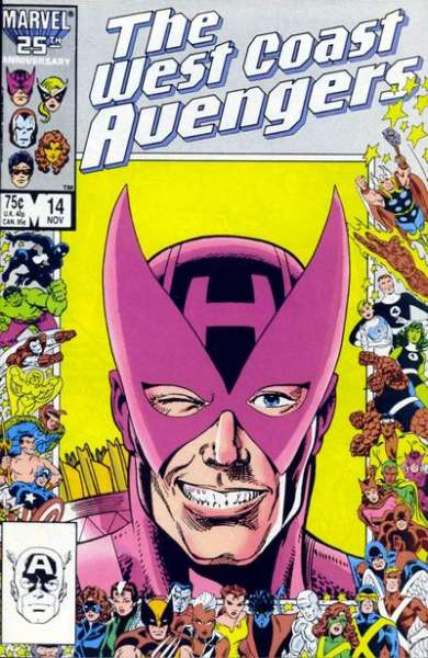 West Coast Avengers #14 comic books for sale