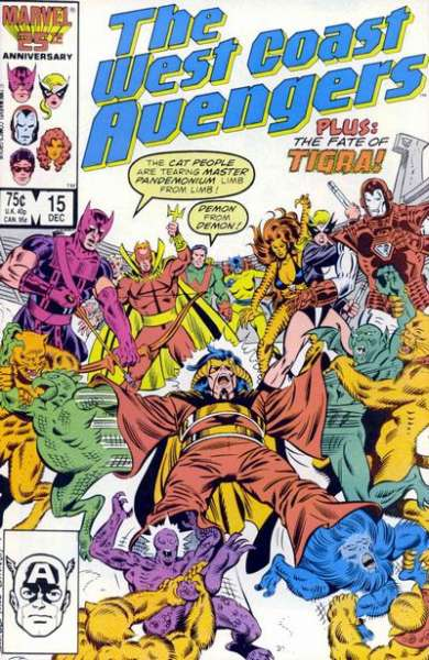 West Coast Avengers #15 comic books for sale