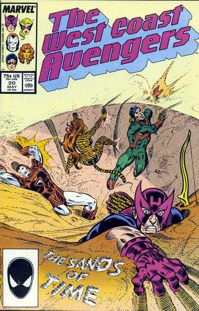 West Coast Avengers #20 comic books for sale