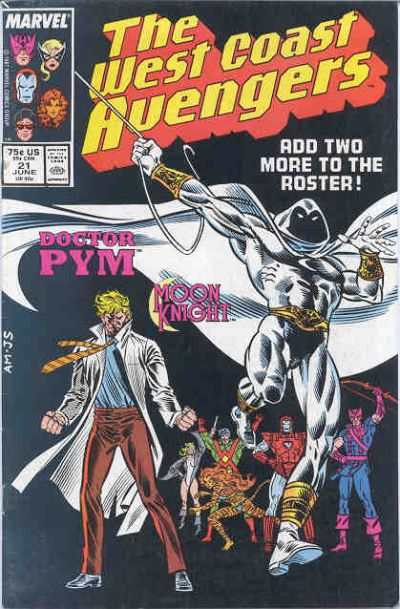 West Coast Avengers #21 comic books for sale