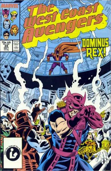 West Coast Avengers #24 comic books for sale