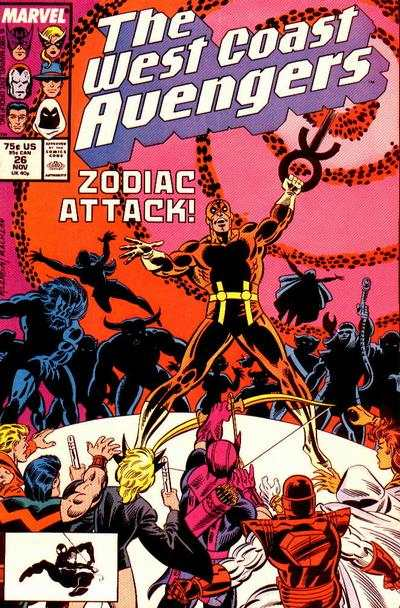 West Coast Avengers #26 comic books for sale