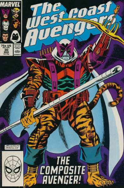 West Coast Avengers #30 comic books for sale