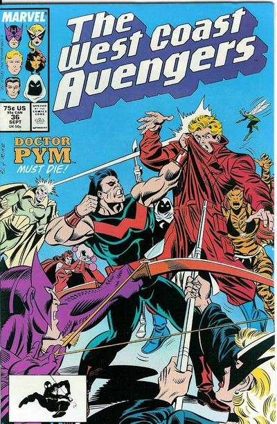 West Coast Avengers #36 comic books for sale
