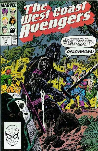 West Coast Avengers #39 comic books for sale