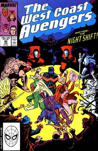 West Coast Avengers #40 comic books for sale