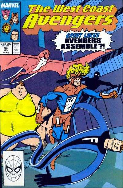 West Coast Avengers #46 comic books for sale