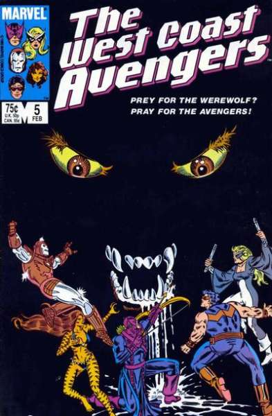 West Coast Avengers #5 comic books for sale