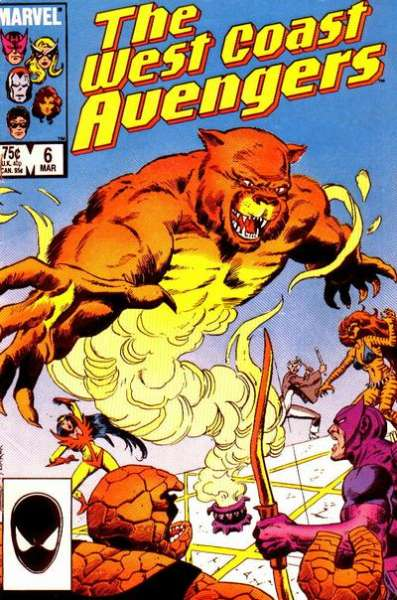 West Coast Avengers #6 comic books for sale