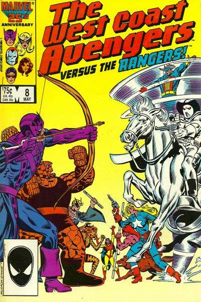 West Coast Avengers #8 comic books for sale