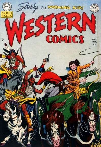 Western Comics #18 Comic Books - Covers, Scans, Photos  in Western Comics Comic Books - Covers, Scans, Gallery