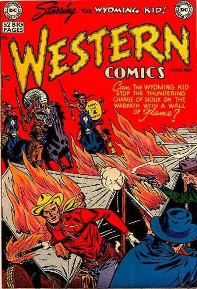 Western Comics #25 Comic Books - Covers, Scans, Photos  in Western Comics Comic Books - Covers, Scans, Gallery
