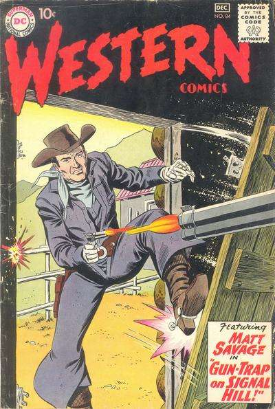 Western Comics #84 Comic Books - Covers, Scans, Photos  in Western Comics Comic Books - Covers, Scans, Gallery