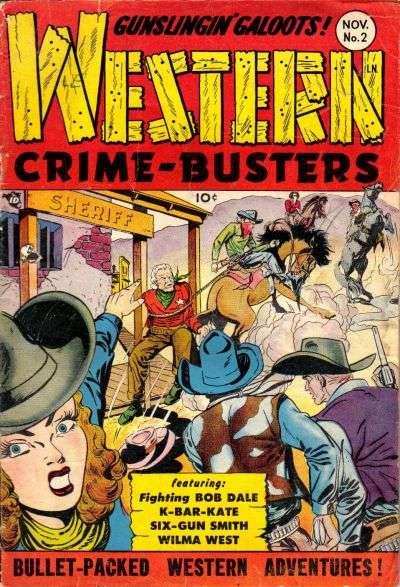 Western Crime Busters #2 comic books for sale