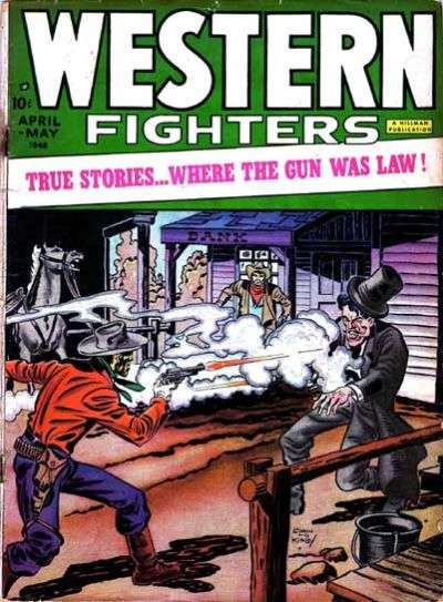 Western Fighters: Volume 1 comic books