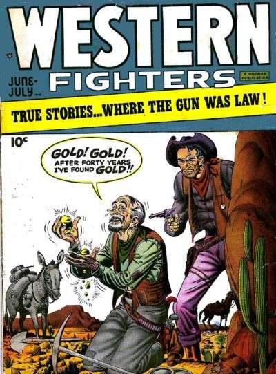 Western Fighters: Volume 1 #2 comic books - cover scans photos Western Fighters: Volume 1 #2 comic books - covers, picture gallery