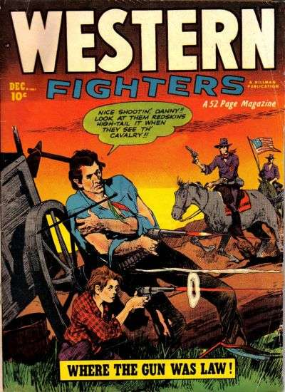 Western Fighters: Volume 4 comic books