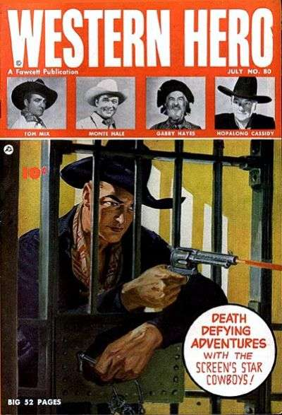 Western Hero #80 comic books for sale