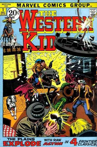 Western Kid comic books