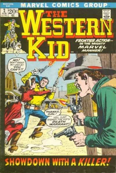 Western Kid #2 comic books - cover scans photos Western Kid #2 comic books - covers, picture gallery