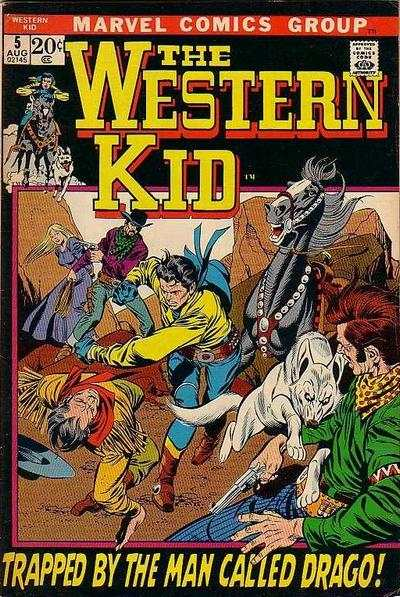 Western Kid #5 Comic Books - Covers, Scans, Photos  in Western Kid Comic Books - Covers, Scans, Gallery