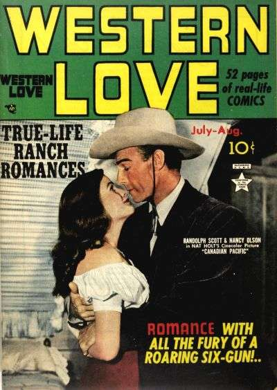Western Love comic books