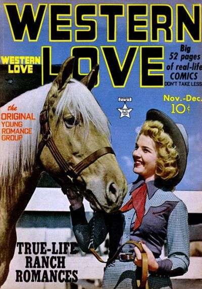 Western Love #3 comic books - cover scans photos Western Love #3 comic books - covers, picture gallery