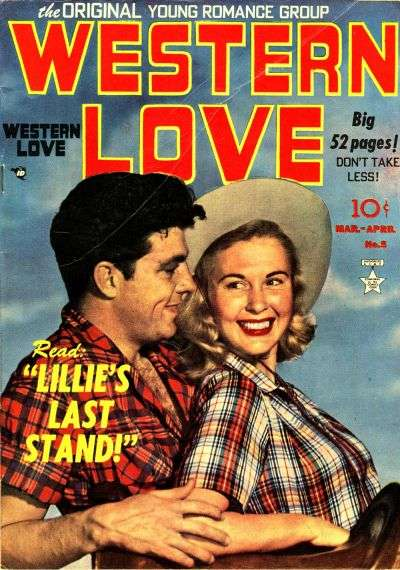 Western Love #5 comic books for sale