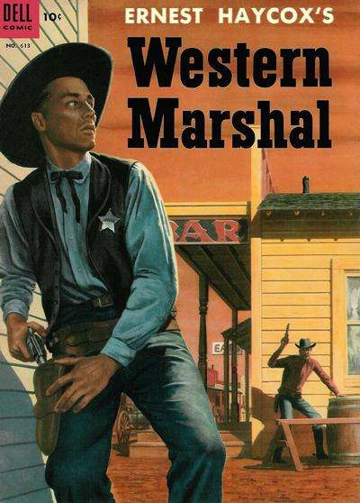 Western Marshal #3 comic books for sale