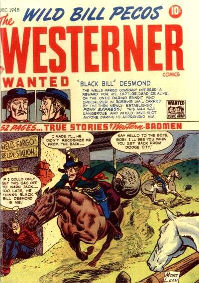Westerner #17 comic books - cover scans photos Westerner #17 comic books - covers, picture gallery