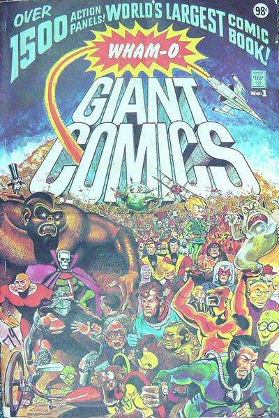 Wham-O Giant Comics #1 comic books - cover scans photos Wham-O Giant Comics #1 comic books - covers, picture gallery