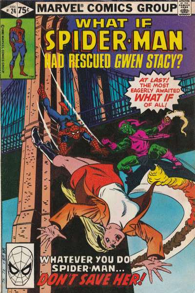 What If? #24 comic books - cover scans photos What If? #24 comic books - covers, picture gallery