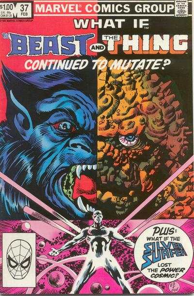 What If? #37 comic books - cover scans photos What If? #37 comic books - covers, picture gallery