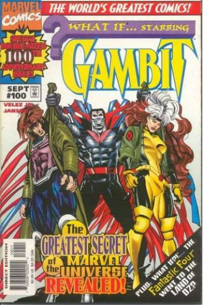What If? #100 comic books - cover scans photos What If? #100 comic books - covers, picture gallery