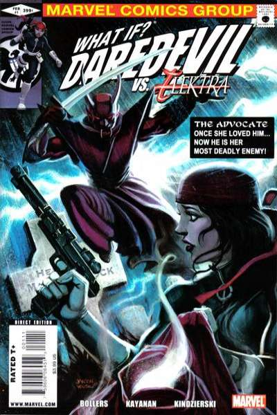 What If: Daredevil vs. Elektra #1 comic books - cover scans photos What If: Daredevil vs. Elektra #1 comic books - covers, picture gallery