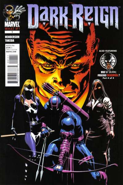 What If: Dark Reign #1 Comic Books - Covers, Scans, Photos  in What If: Dark Reign Comic Books - Covers, Scans, Gallery