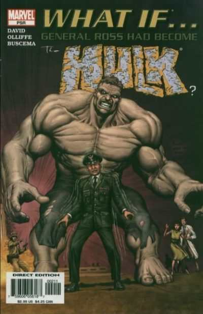 What If General Ross Had Become the Hulk? #1 comic books - cover scans photos What If General Ross Had Become the Hulk? #1 comic books - covers, picture gallery