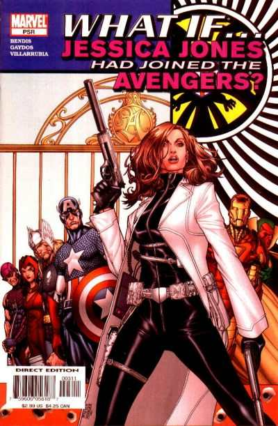 What If Jessica Jones Had Joined the Avengers? #1 comic books - cover scans photos What If Jessica Jones Had Joined the Avengers? #1 comic books - covers, picture gallery