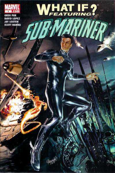 What If: Sub-Mariner comic books