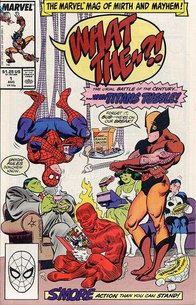 What The -- ?! #1 comic books - cover scans photos What The -- ?! #1 comic books - covers, picture gallery