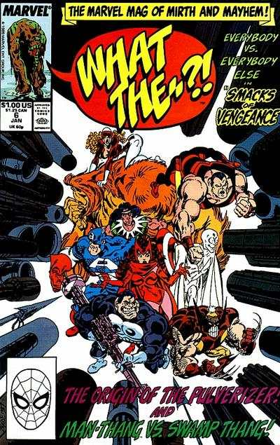 What The -- ?! #6 comic books - cover scans photos What The -- ?! #6 comic books - covers, picture gallery