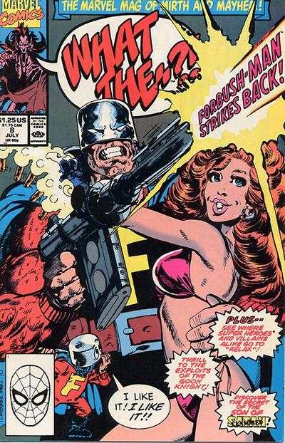 What The -- ?! #8 comic books - cover scans photos What The -- ?! #8 comic books - covers, picture gallery